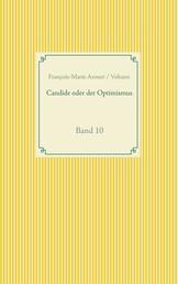 Candide oder der Optimismus - Band 10