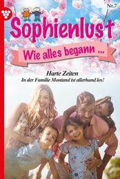 Sophienlust, wie alles begann 7 – Familienroman - Harte Zeiten