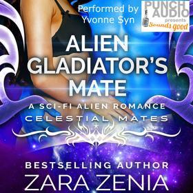 Alien Gladiator's Mate: A Sci-Fi Alien Romance (Unabridged)