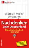 Albrecht Müller: Nachdenken über Deutschland