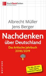 Nachdenken über Deutschland - Das kritische Jahrbuch 2018/2019