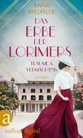 Anne Melville: Das Erbe der Lorimers ★★★★