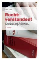 Claus Loos: Recht: verstanden! ★★★★