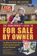 Jackie Bondanza: The Homeowner's Guide to For Sale By Owner