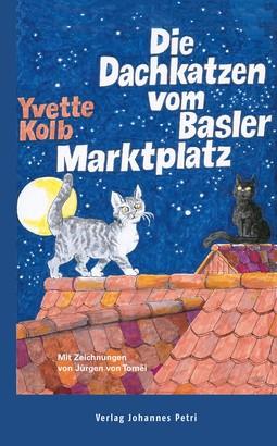 Die Dachkatzen vom Basler Marktplatz