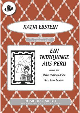 Ein Indiojunge aus Peru