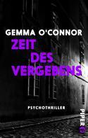 Gemma O'Connor: Zeit des Vergebens ★★★