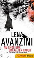 Lena Avanzini: Am Ende nur ein kalter Hauch ★★★★