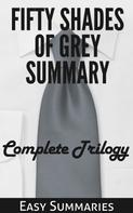Easy Summaries: Fifty Shades of Grey Summary ★★★