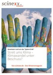 Streit ums Klima - Klimawandel unter Beschuss?