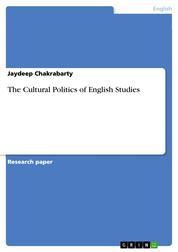 The Cultural Politics of English Studies