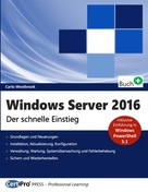 Carlo Westbrook: Windows Server 2016 ★★★★★