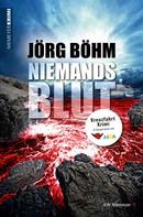 Jörg Böhm: Niemandsblut ★★★