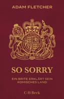 Adam Fletcher: So sorry ★★★★