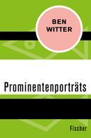 Ben Witter: Prominentenporträts ★★★