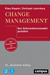 Change Management - Den Unternehmenswandel gestalten