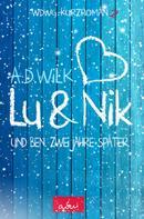 A.D. WiLK: Lu & Nik. Und Ben. Zwei Jahre später.