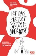 Heiko Werning: Ist das jetzt Satire oder was? ★★★