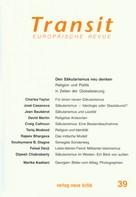Charles Taylor: Transit 39. Europäische Revue