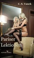C. S. Vanek: Pariser Lektionen ★