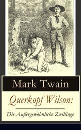 Querkopf Wilson: Die Außergewöhnliche Zwillinge - Wilson, der Spinner (Historischer Kriminalroman)