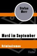 Stefan Murr: Mord im September