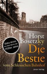 Die Bestie vom Schlesischen Bahnhof - Roman. Doku-Krimi aus dem Berlin der 1920er Jahre