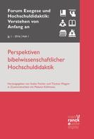 Stefan Fischer: Perspektiven bibelwissenschaftlicher Hochschuldidaktik