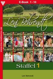 Leni Behrendt Staffel 1 – Liebesroman - E-Book 1-10
