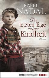 Die letzten Tage meiner Kindheit - Roman