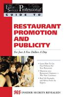 Tiffany Lambert: The Food Service Professionals Guide To: Restaurant Promotion & Publicity For Just A few Dollars A Day