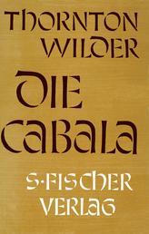 Die Cabala - Roman