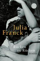 Julia Franck: Rücken an Rücken ★