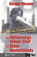 Helmut Roewer: Nur für den Dienstgebrauch ★