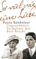 Paula Banholzer: So viel wie eine Liebe ★★★★