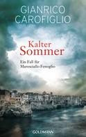 Gianrico Carofiglio: Kalter Sommer ★★★★
