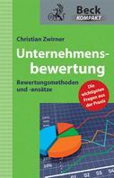 Christian Zwirner: Unternehmensbewertung ★★