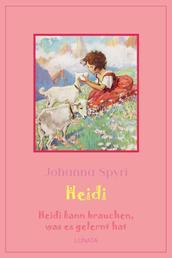 Heidi kann brauchen, was es gelernt hat - Heidi Band 2