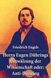 Herrn Eugen Dührings Umwälzung der Wissenschaft oder: Anti-Dühring