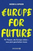 Vincent-Immanuel Herr: Europe for Future