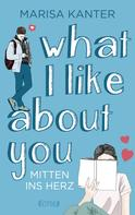 Marisa Kanter: What I Like About You ★★★★