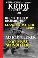 Alfred Bekker: Krimi Doppelband 94