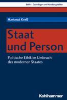 Hartmut Kreß: Staat und Person