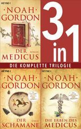 Die Medicus-Saga Band 1-3: - Der Medicus / Der Schamane / Die Erben des Medicus (3in1-Bundle) - Die komplette Trilogie
