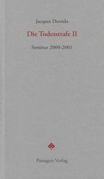 Die Todesstrafe II - Seminar 2000-2001