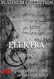 Elektra - Die Opern der Welt