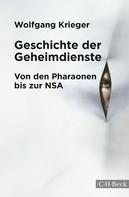 Wolfgang Krieger: Geschichte der Geheimdienste ★★★★