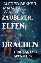Fünf Fantasy Abenteuer - Zauberer, Elfen, Drachen