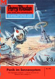 """Perry Rhodan 193: Panik im Sonnensystem - Perry Rhodan-Zyklus """"Das Zweite Imperium"""""""