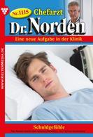 Patricia Vandenberg: Chefarzt Dr. Norden 1115 – Arztroman ★★★★